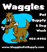 CLICK HERE to view Waggles Pet Supply & Dog Wash